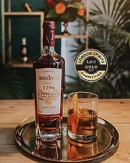 Santa Teresa 1796, Solera Rum Venezuelano, Vincitore Medaglia D'oro London Spirits Competition 2021, Confezione con Astucc...