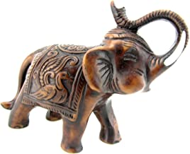 elephant with raised trunk good luck