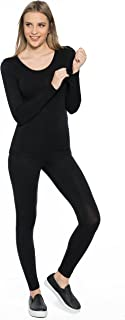 Rubyred ThermaRED Women's Thermal Pants Microfiber Lightweight Soft Warm Cozy Inner-wear Legging