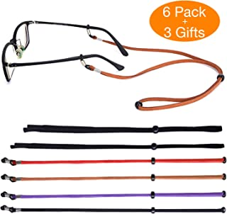 SUKKI Glasses Strap Holder - Eyeglass String Retainer Cord - Glasses Lanyard Chain Necklace