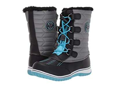 Tundra Boots Kids Alps (Little Kid/Big Kid) (Teal/Grey) Girls Shoes
