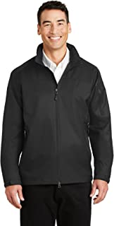 Port Authority Hooded Core Soft Shell Jacket J335 Black// Battleship Grey 4XL