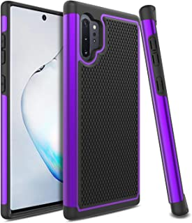 Venoro Galaxy Note 10 Plus 5G Case, Slim Dual Layer Anti Scratch Shockproof Phone Protection Case Cover for Samsung Galaxy Note 10 Pro/Galaxy Note 10 Plus/Galaxy Note 10+ 5G 6.8inch (Purple)