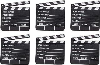 Rhode Island Novelty 7 Inch x 8 Inch Hollywood Movie Clapboard, Six Per Order