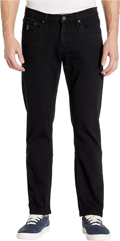U.S. Polo Assn. Men's 5 Pocket Slim Straight Denim Jean
