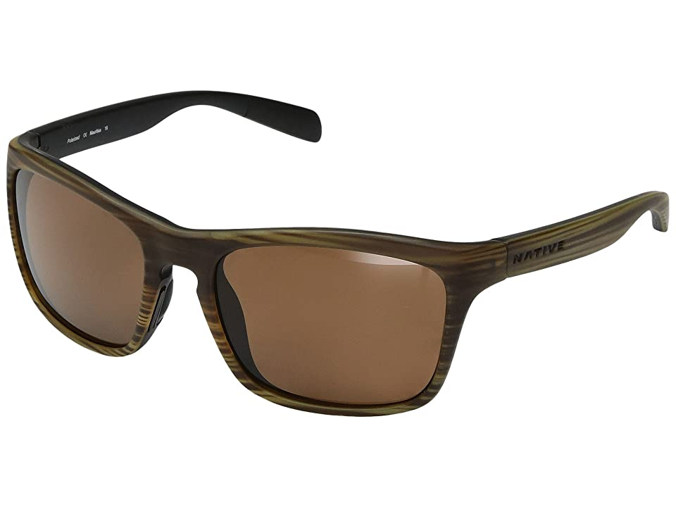 Native Eyewear Penrose (Wood/Black) Sport Sunglasses