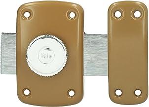 Yale yv10bt/40 Nachtgrendelslot knop, bruin goud, 40 mm