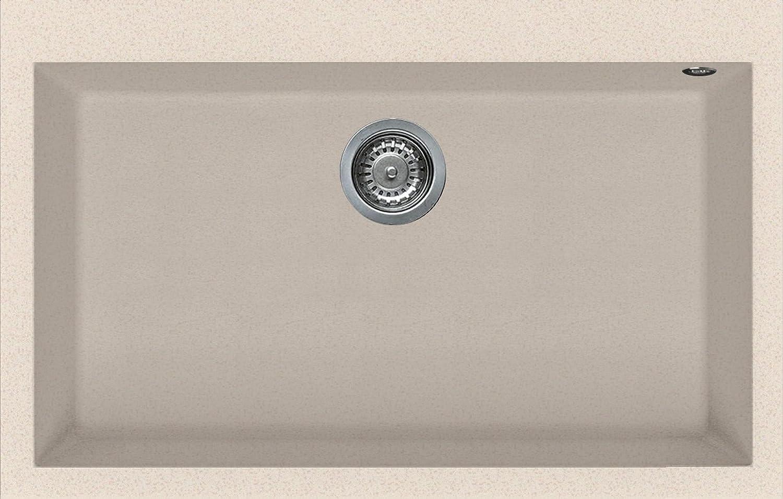 Elleci lgq13051Auflage (79cm, 50cm, 22cm) beige