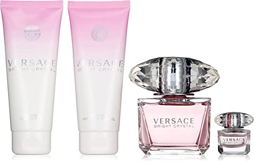 Versace Bright Crystal 4-Pieces Set for Women