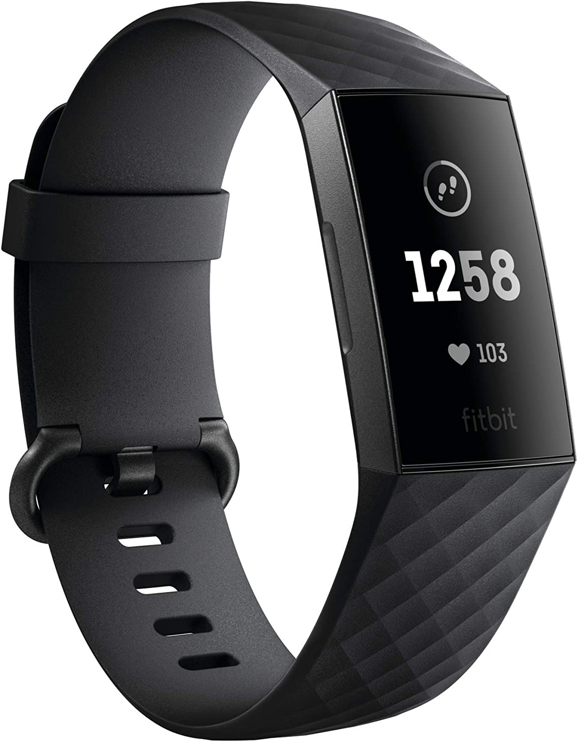 Fitbit low-pricing Charge 3 Fitness Selling and selling Activity Si Tracker Black Graphite One