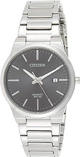 Citizen Men's BI5060-51H Silver Stainless-Steel Japanese Quartz Dress Watch