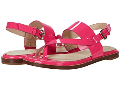 Cole Haan Anica Thong Sandal (Pink Glow Leather) Women