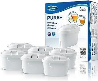 Aqualogis Pure+ Cartouche Filtrante Compatible avec Maxtra+ Maxtra Style, Marella, Style, Fun (6)