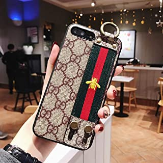 iPhone 8 Case, Elegant Style Leather Case, Shockproof Protective Cover Case, Compatible with New Apple iPhone 8 and iPhone 7