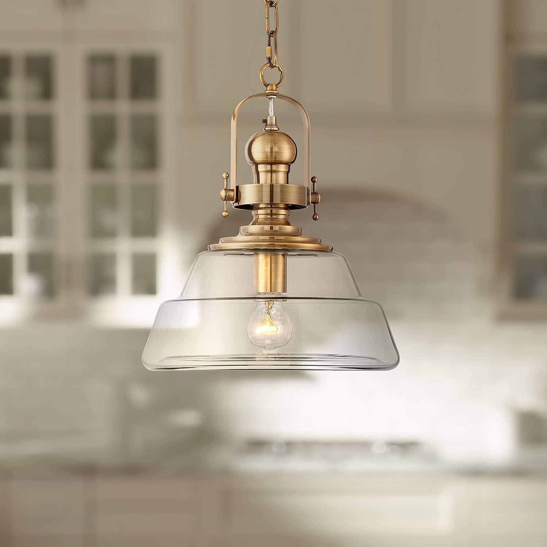 Donovan Antique Brass Pendant sale Light 13