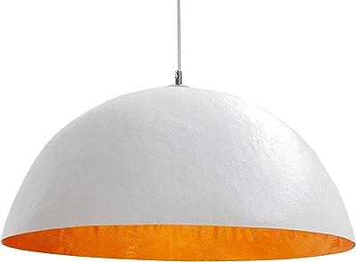 vidaXL Pendelleuchte Schwarz Golden Ø 50cm E27 Hängelampe Deckenlampe Leuchte