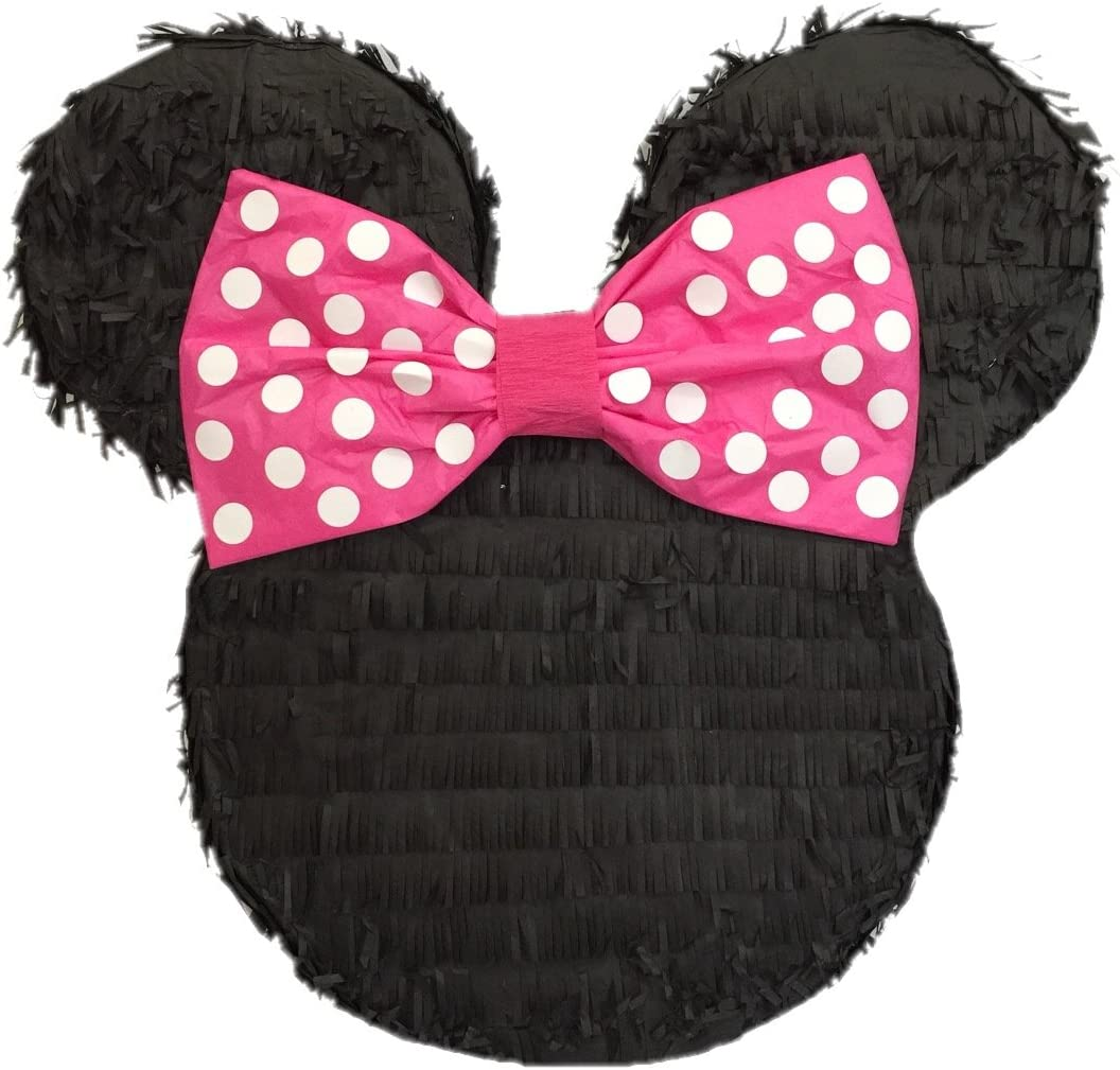 Mouse Ears with Pink Bow Tall Pinata 19