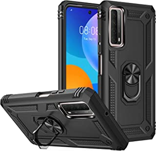 FTRONGRT Case for Samsung Galaxy M62, Rugged and shockproof,with mobile phone holder, Cover for Samsung Galaxy M62-Black