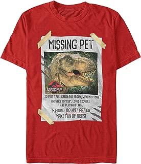 Jurassic Park Men's T. Rex Missing Pet T-Shirt