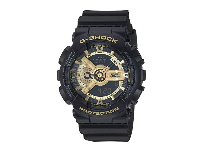 G-Shock  X-Large Combi GA110 (Black/Gold) Digital Watches
