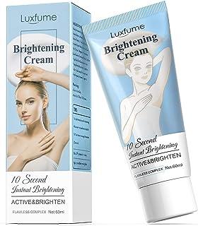 Underarm Lightening Cream Dark Spot Corrector Cream, Skin Brightening Cream Moisturizer for Armpits, Bikini Lines, Intimat...