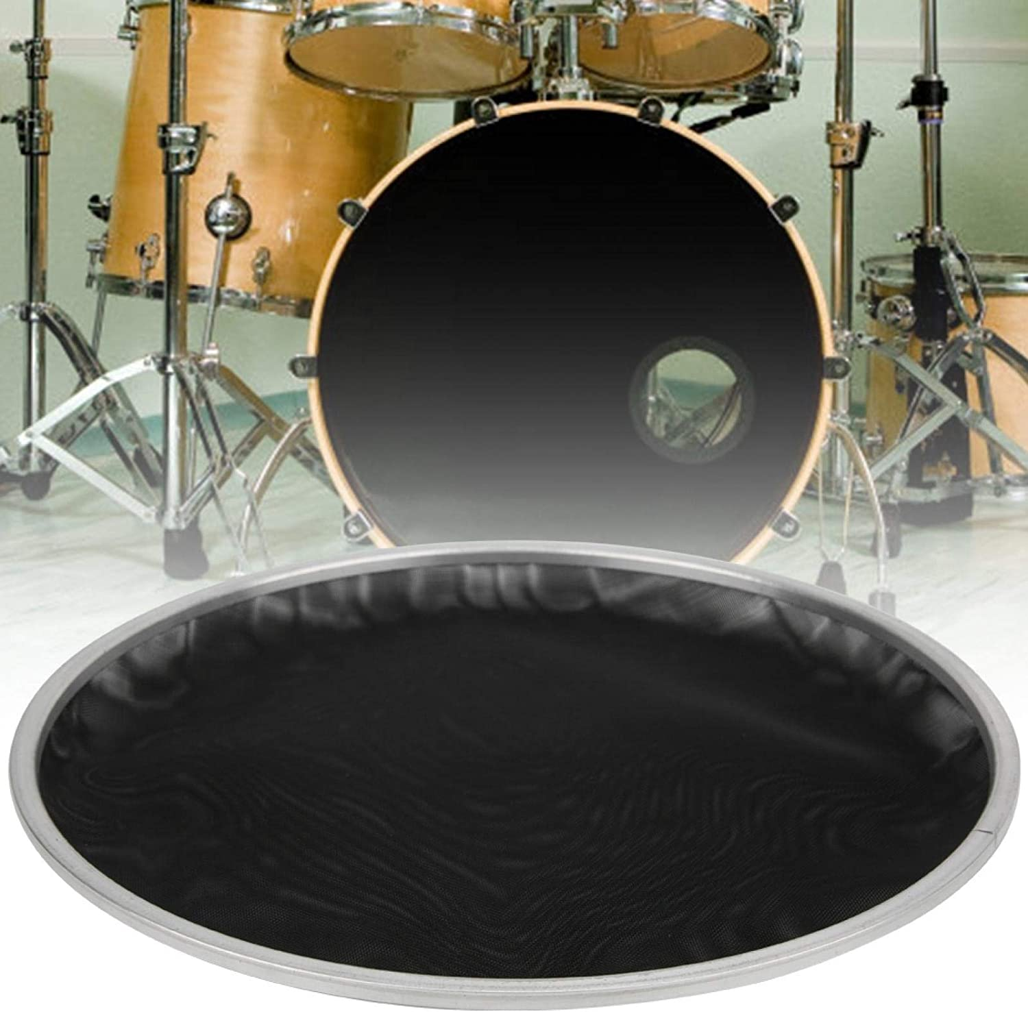 Pwshymi Drum Special sale item Head Easy To Use Musican Enthusiasts For shipfree