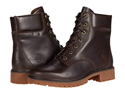 Timberland Jayne 6 Waterproof Boot (Dark Brown Full Grain) Women