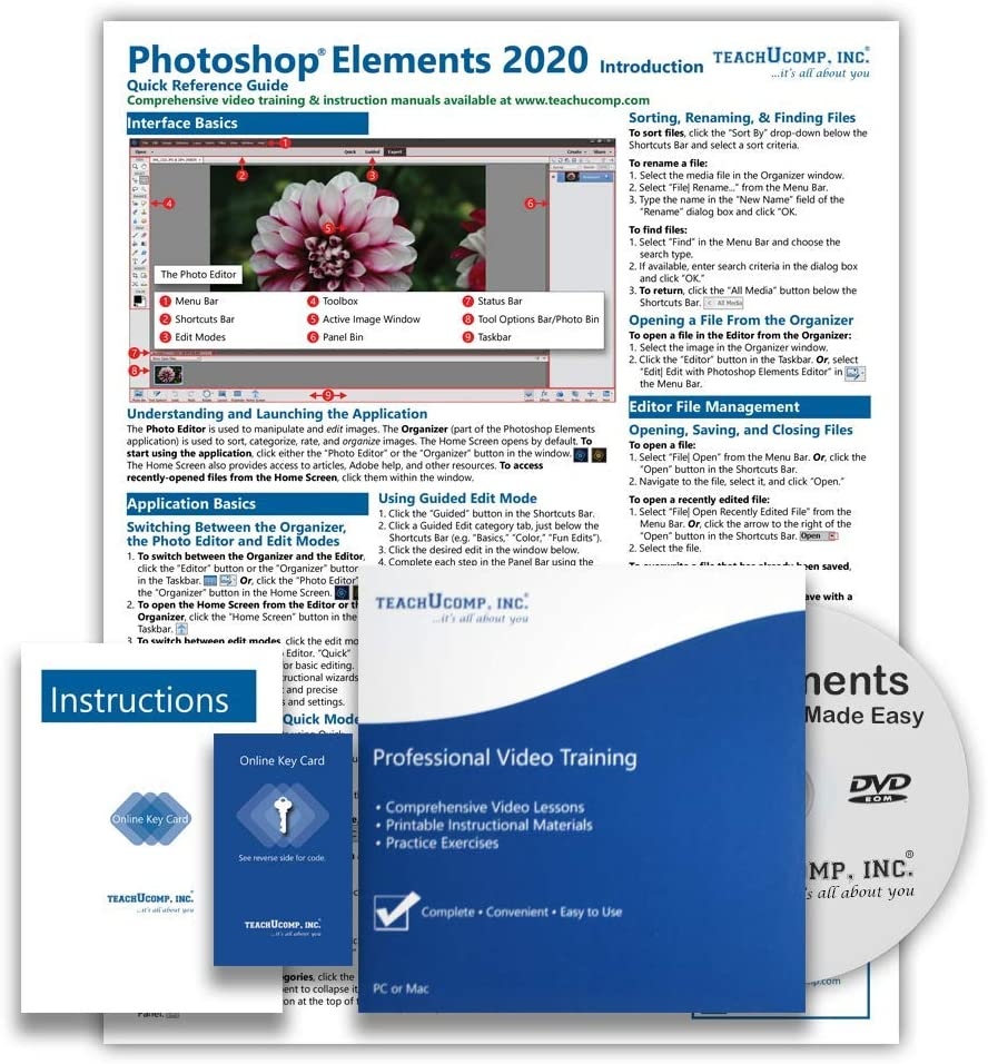 Learn Adobe Photoshop Elements 2020 Training Cou Regular discount Tutorial DELUXE Los Angeles Mall
