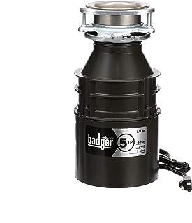 InSinkErator Badger 5XP 3/4 HP Household Garbage Disposer and Power Cord Kit Bundle