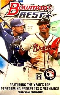 2018 Bowman's Best MLB Baseball HOBBY box (12 pk, FOUR Autograph cards)