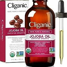 Aceite de Jojoba de Cliganic | Orgánico | 100% Puro | Sin
