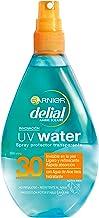 Garnier Delial UV Water Spray Protector Solar Transparente, Alta Protección para Cuerpo y Rostro IP30 - 150 ml