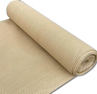 Alion Home 180 GSM Sunblock Shade Fabric Roll, 95% UV Block Breathable Mesh for Fence, Garden, Backyard, Outdoor,Patio, Pergola, Greenhouse, Barn (3' x 50', Beige)