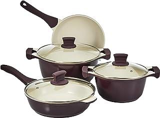Prestige PR80951 9 Pc Cast Aluminum Ceramic Cookware set