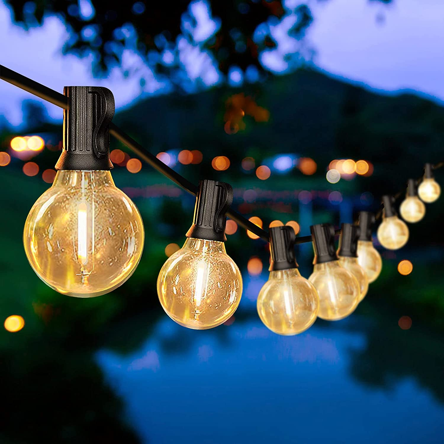 Daybetter 50ft Outdoor String Lights $20.99 Coupon