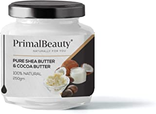 Primal Beauty Shea Butter and Cocoa Butter, 250 g