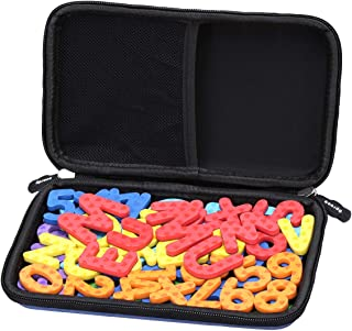 Aproca Hard Storage Travel Case for MAGTIMES Magnetic Letters and Numbers Kit