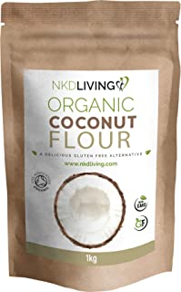 Harina de coco orgánica (1 kg) de NKD Living - Certificaci