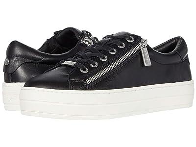 J/Slides Harling (Black Leather) Women