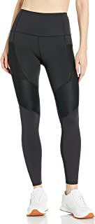 Body Glove Women's Saturn Performance Fit Activewear Legging Pant with Pintuck Detail