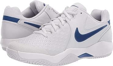 Nike Men's Air Zoom Resistance Tennis Shoes(Grey/Blue,11,D (M) US)