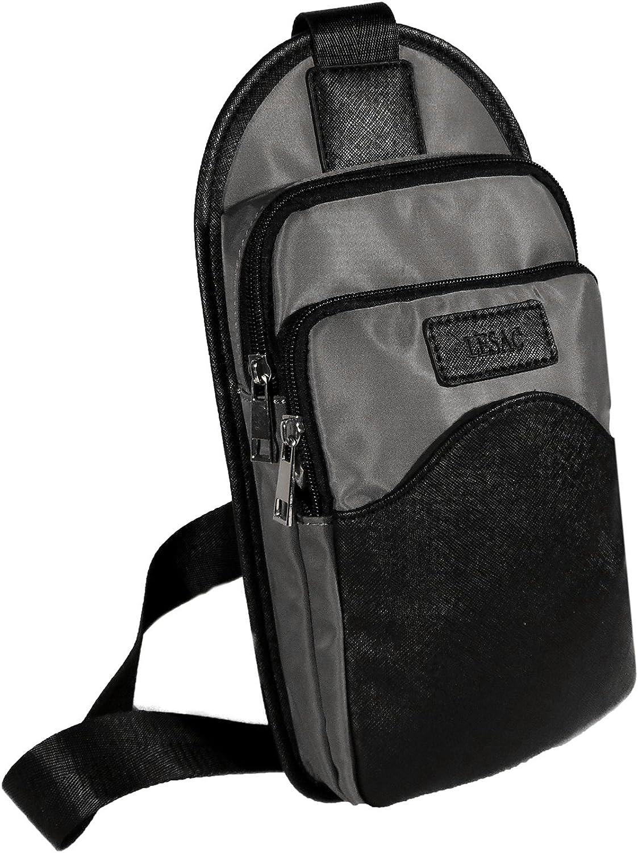 Le Sac Sling Bag for Women   Chest Bag   One Strap Black