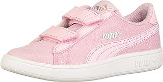 PUMA Unisex-Child Smash 2 Glitz Glam Hook and Loop Sneaker