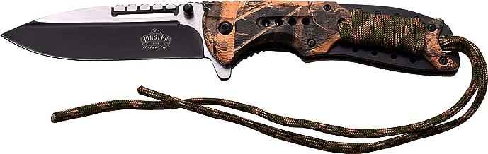 Taille Unique Multicolore Master USA Adultes ferm/é en cm 12,07/Couteau Pliant