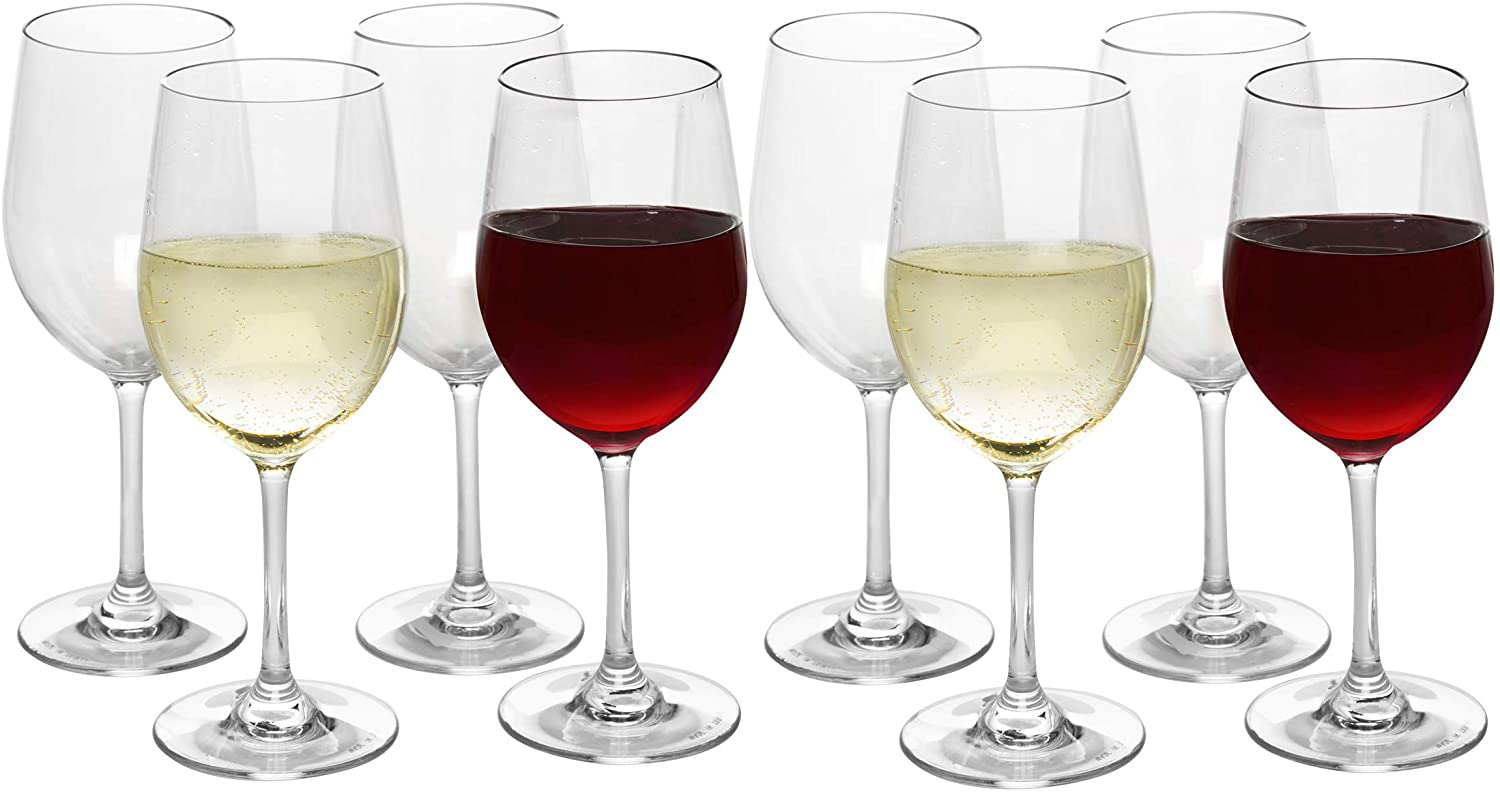 Unbreakable Stemmed Wine Glasses Shatterproo 12oz- Baltimore New Shipping Free Shipping Mall Tritan- 100%