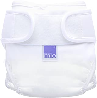 Bambino Mio, Miosoft Nappy Cover, White, Size 2 (2pack)