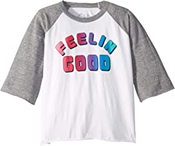 Super Soft Feelin Good 3/4 Bell Sleeve Tee (Little Kids/Big Kids)