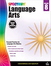Download Book Spectrum | Language Arts Workbook | 8th Grade, 160pgs PDF