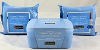 Neutrogena Makeup Remover Cleansing Towelettes Combo Pack, 1-25 Count Tub, Plus 2-25 Count Refills