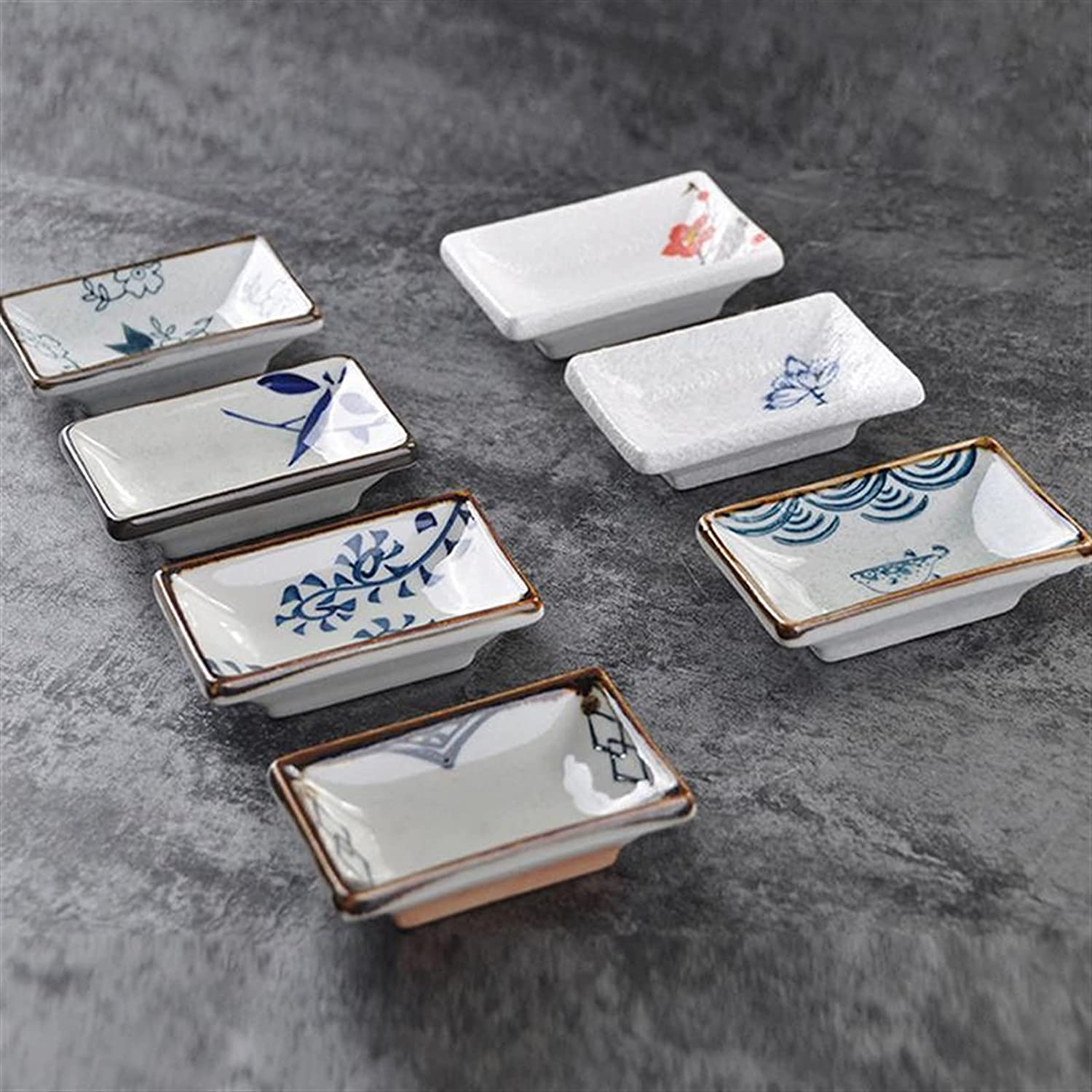 appetizer plates 3pcs Japanese Style Department store Creative Sauce Max 45% OFF C Dishes Soy